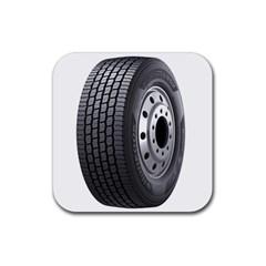 Tire Rubber Coaster (Square)