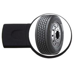 Tire USB Flash Drive Round (4 GB)