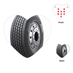 Tire Playing Cards (Heart)