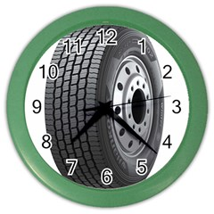Tire Color Wall Clocks