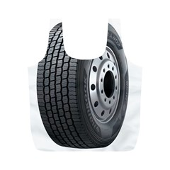 Tire Full Print Recycle Bags (M)