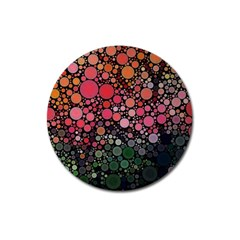 Circle Abstract Magnet 3  (Round)
