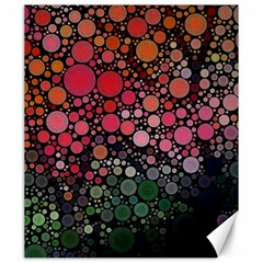 Circle Abstract Canvas 20  x 24