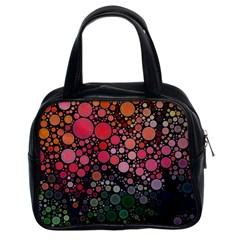 Circle Abstract Classic Handbags (2 Sides)