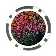 Circle Abstract Poker Chip Card Guard (10 pack)