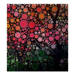 Circle Abstract Shower Curtain 66  x 72  (Large)
