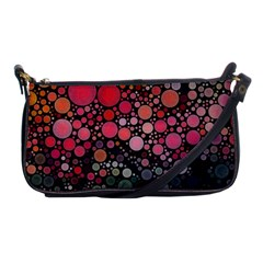 Circle Abstract Shoulder Clutch Bags