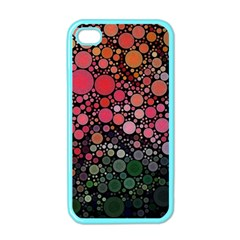 Circle Abstract Apple iPhone 4 Case (Color)