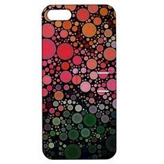 Circle Abstract Apple iPhone 5 Hardshell Case with Stand