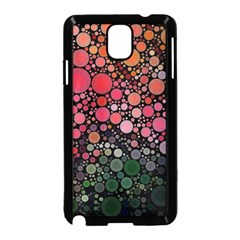 Circle Abstract Samsung Galaxy Note 3 Neo Hardshell Case (Black)