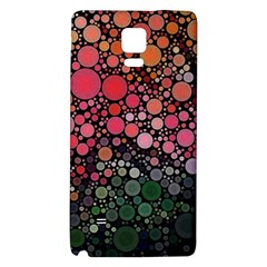 Circle Abstract Galaxy Note 4 Back Case