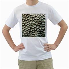 Ocean Pattern Men s T-Shirt (White) (Two Sided)