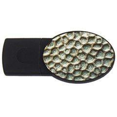 Ocean Pattern USB Flash Drive Oval (4 GB)