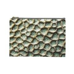 Ocean Pattern Cosmetic Bag (Large)