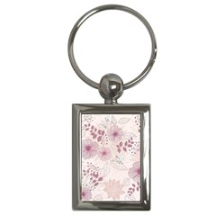 Leaves Pattern Key Chains (Rectangle)