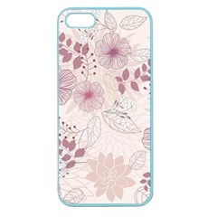 Leaves Pattern Apple Seamless iPhone 5 Case (Color)
