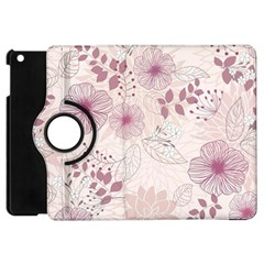 Leaves Pattern Apple iPad Mini Flip 360 Case