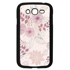Leaves Pattern Samsung Galaxy Grand DUOS I9082 Case (Black)