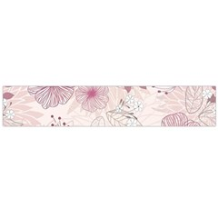 Leaves Pattern Flano Scarf (Large)