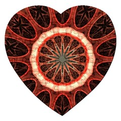 Circle Pattern Jigsaw Puzzle (Heart)