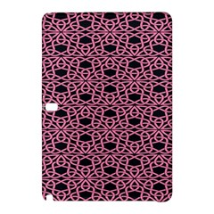 Triangle Knot Pink And Black Fabric Samsung Galaxy Tab Pro 12.2 Hardshell Case