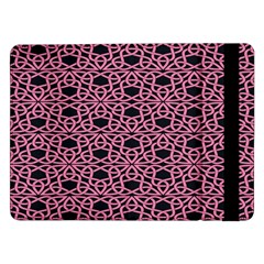 Triangle Knot Pink And Black Fabric Samsung Galaxy Tab Pro 12.2  Flip Case
