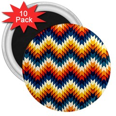 The Amazing Pattern Library 3  Magnets (10 pack)