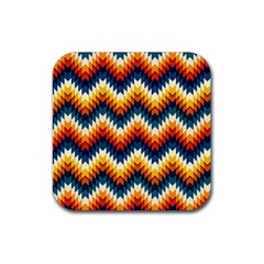 The Amazing Pattern Library Rubber Square Coaster (4 pack)