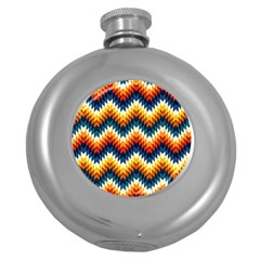 The Amazing Pattern Library Round Hip Flask (5 oz)