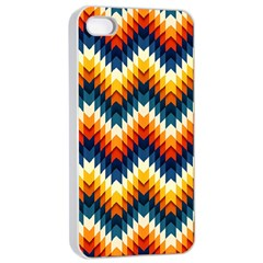 The Amazing Pattern Library Apple iPhone 4/4s Seamless Case (White)
