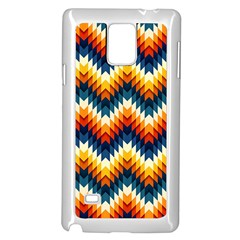 The Amazing Pattern Library Samsung Galaxy Note 4 Case (White)