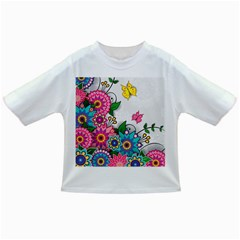 Flowers Pattern Vector Art Infant/Toddler T-Shirts
