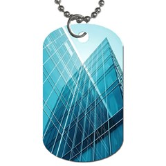 Glass Bulding Dog Tag (Two Sides)