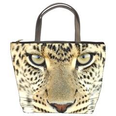 Leopard Face Bucket Bags
