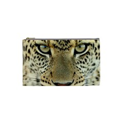 Leopard Face Cosmetic Bag (Small)