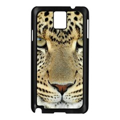 Leopard Face Samsung Galaxy Note 3 N9005 Case (Black)