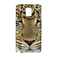 Leopard Face Samsung Galaxy Note 4 Hardshell Case