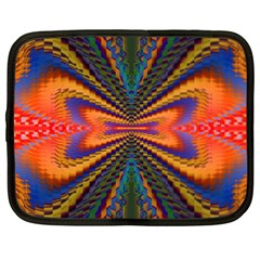 Casanova Abstract Art Colors Cool Druffix Flower Freaky Trippy Netbook Case (XXL)