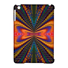 Casanova Abstract Art Colors Cool Druffix Flower Freaky Trippy Apple iPad Mini Hardshell Case (Compatible with Smart Cover)