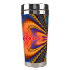 Casanova Abstract Art Colors Cool Druffix Flower Freaky Trippy Stainless Steel Travel Tumblers
