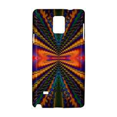 Casanova Abstract Art Colors Cool Druffix Flower Freaky Trippy Samsung Galaxy Note 4 Hardshell Case