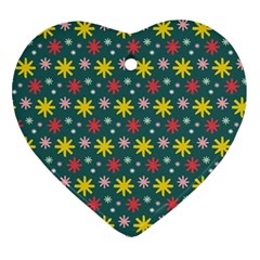 The Gift Wrap Patterns Ornament (Heart)