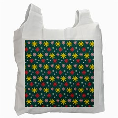The Gift Wrap Patterns Recycle Bag (Two Side)