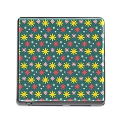 The Gift Wrap Patterns Memory Card Reader (Square)