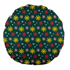 The Gift Wrap Patterns Large 18  Premium Round Cushions