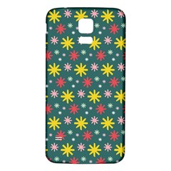 The Gift Wrap Patterns Samsung Galaxy S5 Back Case (White)
