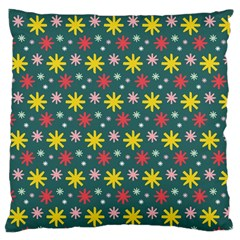 The Gift Wrap Patterns Large Flano Cushion Case (Two Sides)