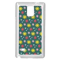The Gift Wrap Patterns Samsung Galaxy Note 4 Case (White)
