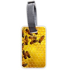 Honey Honeycomb Luggage Tags (Two Sides)