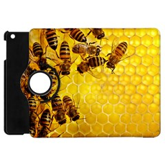 Honey Honeycomb Apple iPad Mini Flip 360 Case
